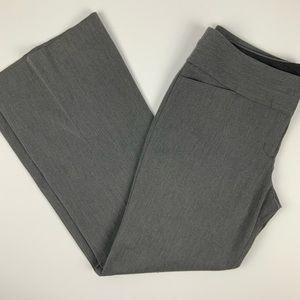 Express Editor gray Wide Leg Career Pants 12